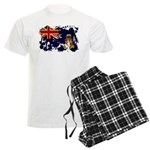 Cayman Islands Flag Men's Light Pajamas