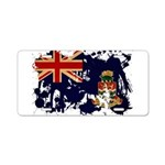 Cayman Islands Flag Aluminum License Plate