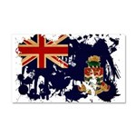 Cayman Islands Flag Car Magnet 20 x 12