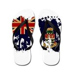 Cayman Islands Flag Flip Flops