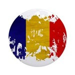 Chad Flag Ornament (Round)