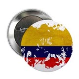 "Colombia Flag 2.25"" Button"