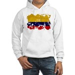 Colombia Flag Hooded Sweatshirt