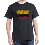 Colombia Flag Dark T-Shirt