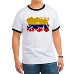 Colombia Flag Ringer T