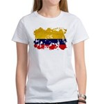 Colombia Flag Women's T-Shirt