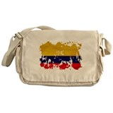Colombia Flag Messenger Bag