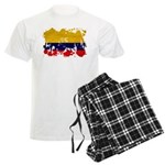 Colombia Flag Men's Light Pajamas