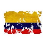 Colombia Flag 38.5 x 24.5 Wall Peel