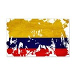 Colombia Flag 22x14 Wall Peel