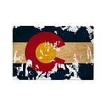 Colorado Flag Rectangle Magnet (100 pack)