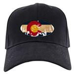 Colorado Flag Black Cap