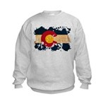 Colorado Flag Kids Sweatshirt