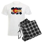 Colorado Flag Men's Light Pajamas