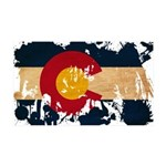 Colorado Flag 38.5 x 24.5 Wall Peel