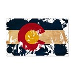 Colorado Flag 22x14 Wall Peel