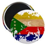 Comoros Flag Magnet