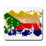 Comoros Flag Mousepad