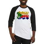 Comoros Flag Baseball Jersey