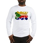 Comoros Flag Long Sleeve T-Shirt