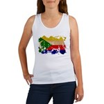 Comoros Flag Women's Tank Top