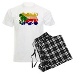 Comoros Flag Men's Light Pajamas