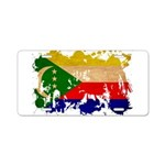 Comoros Flag Aluminum License Plate