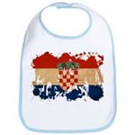 Croatia Flag Bib