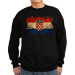 Croatia Flag Sweatshirt (dark)