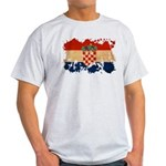 Croatia Flag Light T-Shirt