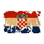 Croatia Flag 38.5 x 24.5 Wall Peel