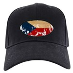 Czech Republic Flag Black Cap