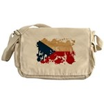 Czech Republic Flag Messenger Bag