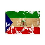 Equatorial Guinea Flag Rectangle Magnet (10 pack)