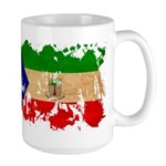 Equatorial Guinea Flag Large Mug