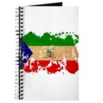 Equatorial Guinea Flag Journal