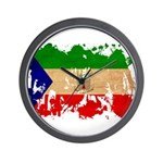 Equatorial Guinea Flag Wall Clock