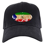 Equatorial Guinea Flag Black Cap