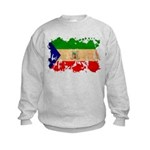 Equatorial Guinea Flag Kids Sweatshirt
