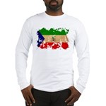 Equatorial Guinea Flag Long Sleeve T-Shirt
