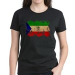 Equatorial Guinea Flag Women's Dark T-Shirt