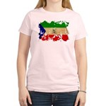 Equatorial Guinea Flag Women's Light T-Shirt