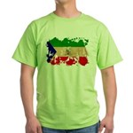 Equatorial Guinea Flag Green T-Shirt