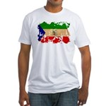 Equatorial Guinea Flag Fitted T-Shirt