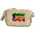 Equatorial Guinea Flag Messenger Bag