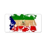 Equatorial Guinea Flag Aluminum License Plate