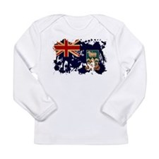 Falkland Islands Flag Long Sleeve Infant T-Shirt