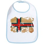 Faroe Islands Flag Bib