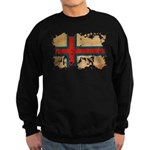 Faroe Islands Flag Sweatshirt (dark)