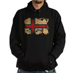 Faroe Islands Flag Hoodie (dark)